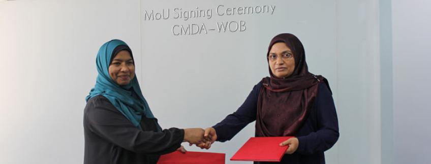 CMDA and Women on Boards signs MoU